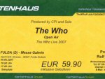 Ticket Fulda, 09-07-2007 (Andy)