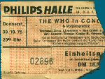 Ticket stub Dusseldorf 1975 (thanks to Burkhard Kaiser)