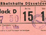 Ticket stub Dusseldorf 1966 (thanks to Burkhard Kaiser)