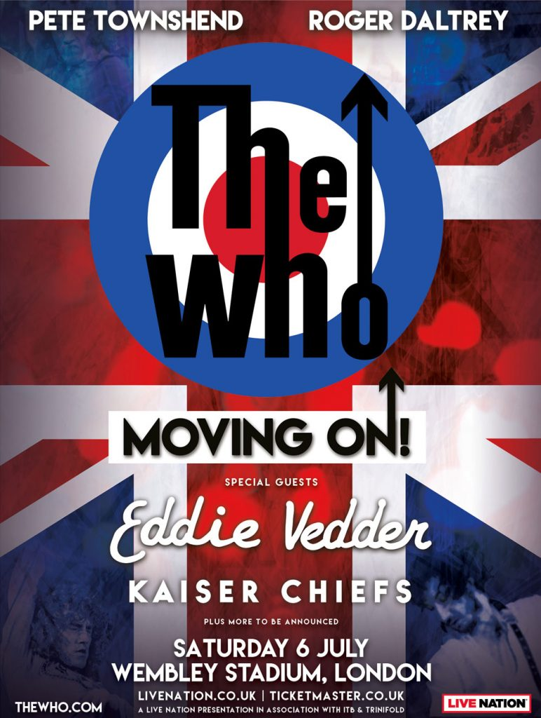The Who live in London, Saturday, 06  July 2019