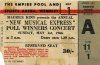 Ticket, London 1.05.1966