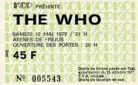 Ticket 12 May 1979 (thanks to Joseph Kolmansky)