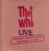 CD Cover, Mansfield 2002