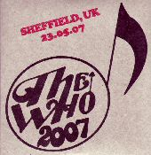 CD-Cover Sheffield 2007
