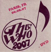 DVD-Cover Paris 2007