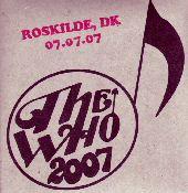 CD-Cover Roskilde 2007