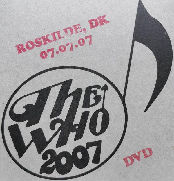 DVD Cover Roskilde 2007