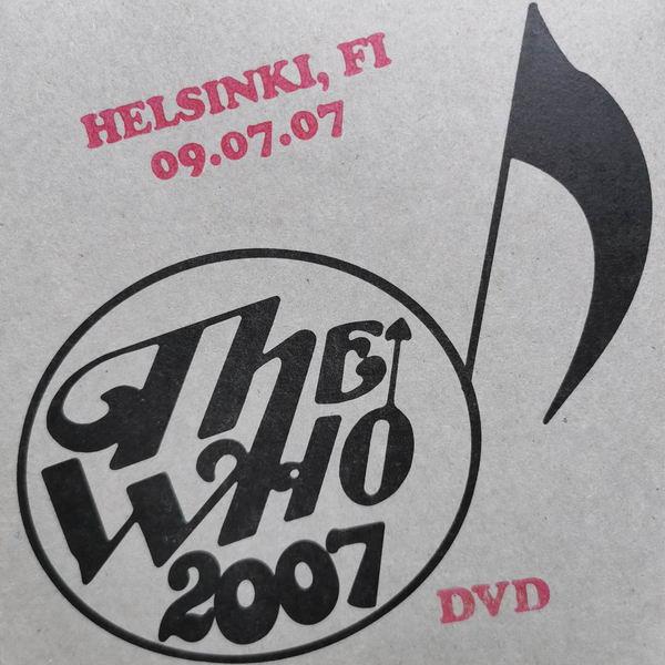 DVD-Cover Helsinki 2007