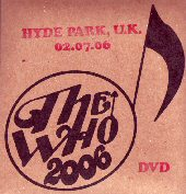 DVD Cover Hyde Park Calling 2006
