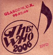 DVD Cover Glasgow 2006