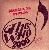 Cover Encore 2006 Madrid DVD