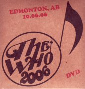DVD Cover Edmonton 2006