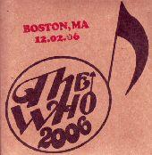 CD-Cover Boston, December 2006