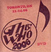 DVD-Cover, Toronto 2006